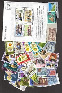 50 different Pitcairn Islands packet